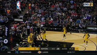 NBA Toronto Raptors beat the Indiana 2018