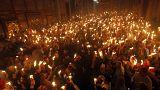 Η Αφή του Αγίου Φωτός και η άφιξη στην Ελλάδα (vid + pics)