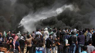 Véres hét a gázai övezetben