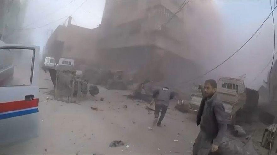 El ejército sirio sigue ganando terreno en Guta