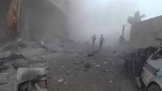 Ghouta : reprise des bombardements