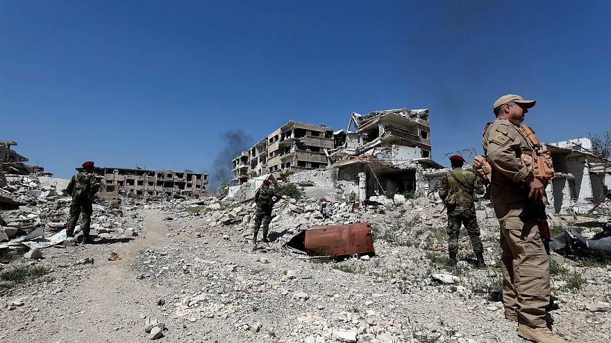 الجيش السوري يسعى لإكمال نصره العسكري بالهجوم على اخر جيب للمعارضة في الغوطة