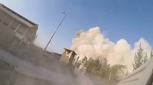 More civilian deaths after air strikes near Damascus in Syria