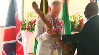 Визит принца Чарльза в Вануату
