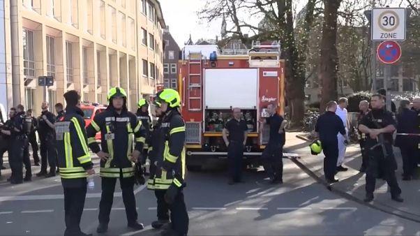 Varios muertos y heridos en un atropello masivo en Münster