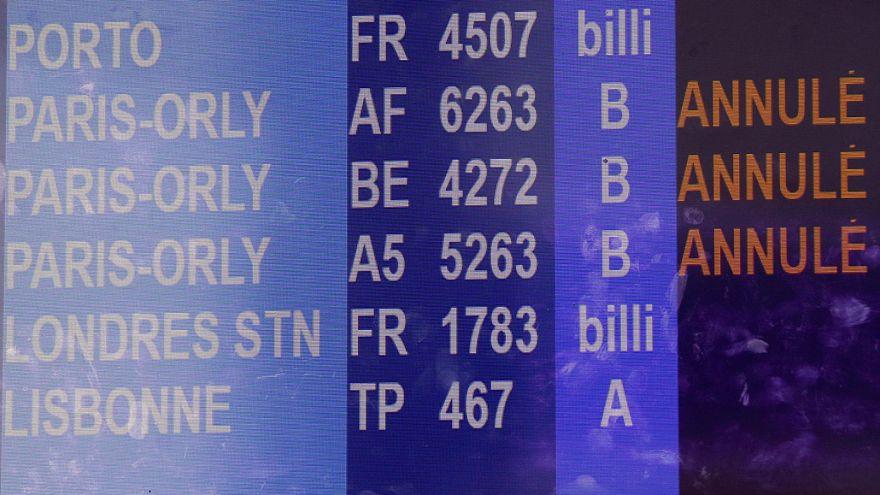 Erneute Streiks bei Air France und Staatsbahnen