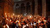 Η Αφή του Αγίου Φωτός στον Ιερό Ναό της Αναστάσεως