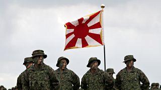 Οι πρώτοι Ιάπωνες πεζοναύτες από τον β' παγκόσμιο πόλεμο
