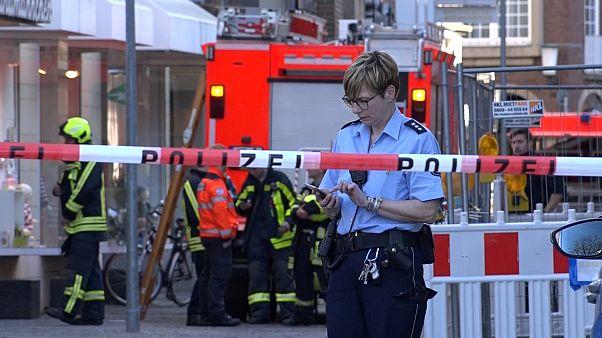 Münster: Zwei Opfer bei Autoanschlag, Fahrer tötet sich