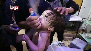 هجوم كيماوي على دوما في الغوطة الشرقية