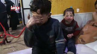 Várias dezenas de mortos em alegado ataque químico em Ghouta