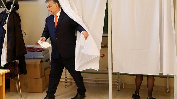 В Венгрии проходят парламентские выборы