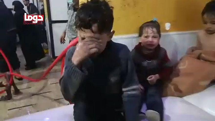 Több tucatnyian meghaltak a mérges gáztól Szíriában