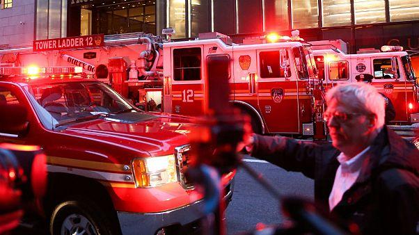 برج ترامپ باز هم آتش گرفت