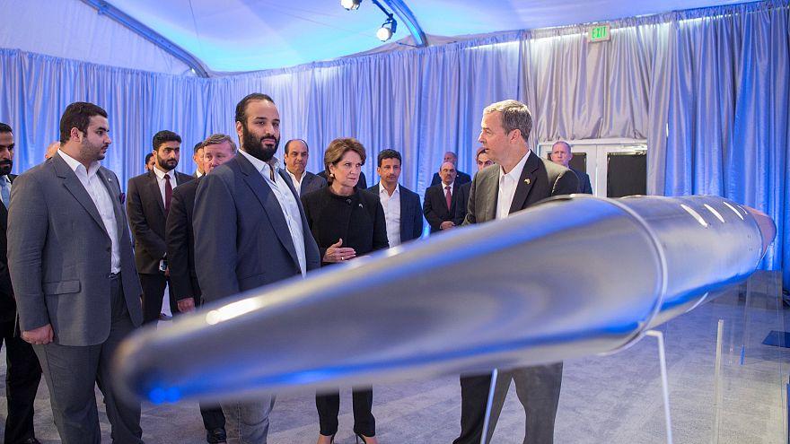 محمد بن سلمان يزور شركة لوكهيد مارتن في سان فرانسيسكو
