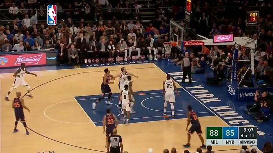 Los Bucks conquistan el Madison Square Garden