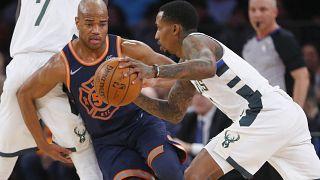 Milwaukee Bucks impõem-se aos Knicks no Madison Square Garden