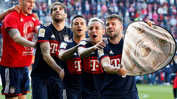 Bayern Münih'ten şampiyonluk rekoru