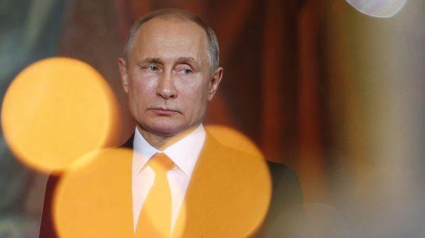 Putin celebra Páscoa Ortodoxa com Patriarca Kirill