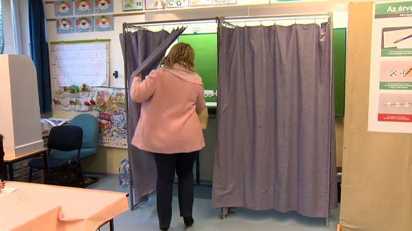 Jornada electoral en Hungría