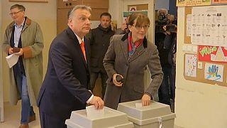 Alta participación en las elecciones de Hungría