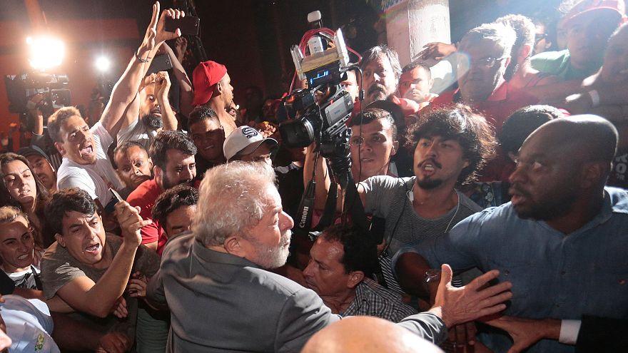 Митинг сторонников Лулы да Силвы
