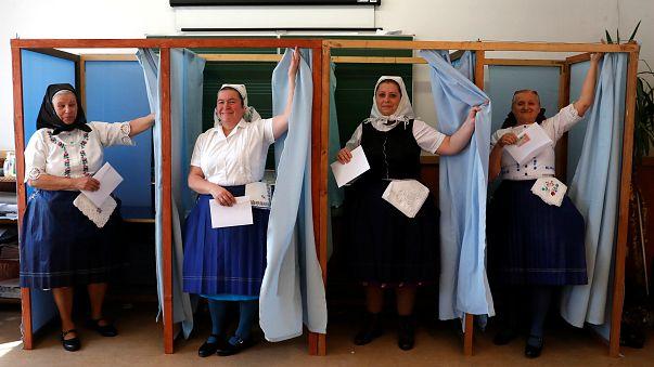 Macaristan'da seçimlere büyük ilgi