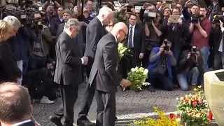Germania: omaggio alle vittime di Münster