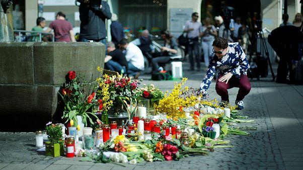 Almanya Münster kurbanlarını anıyor