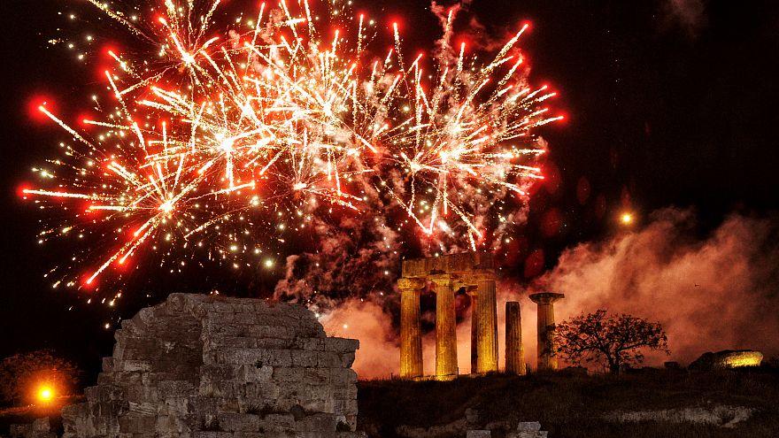 Ιερός Ναός Κοιμήσεως Θεοτόκου, Αρχαία Κόρινθος