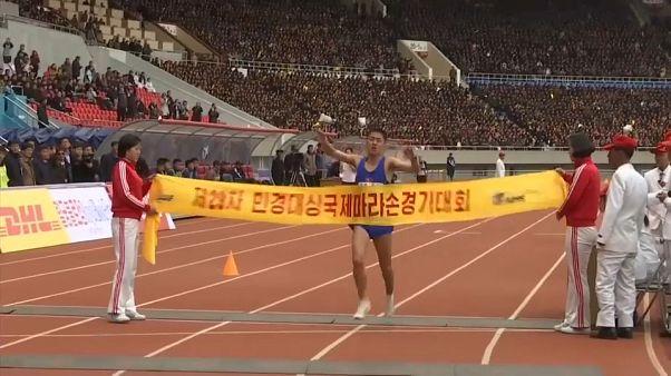 Über 400 Ausländer laufen Marathon in Pjöngjang
