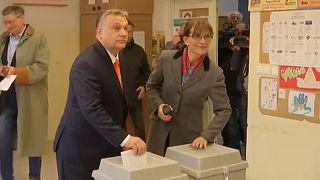Magas részvétel mellett zajlik a magyar parlamenti választás