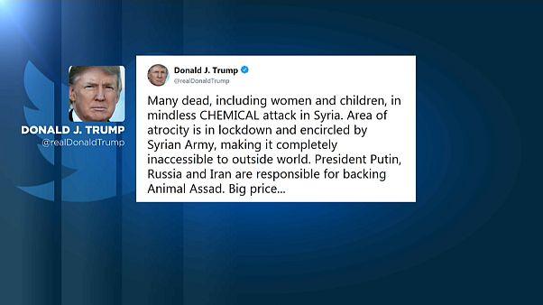 Reações ao ataque em Douma