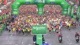 Maratona di Parigi, vincono Lonyangata e Saina