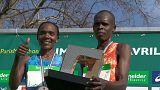 Doblete de Kenia en las calles de París