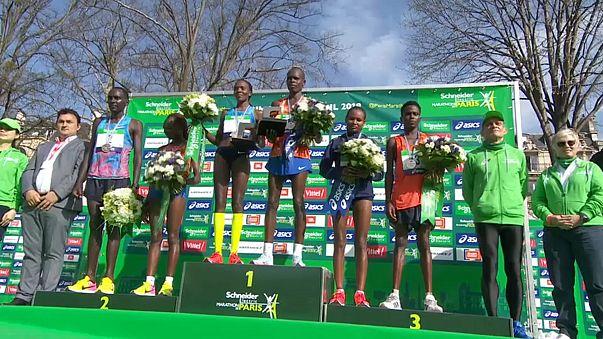 Quénia em alta na Maratona de Paris