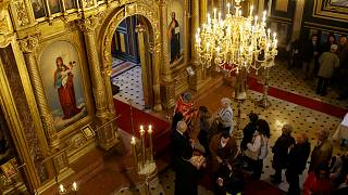 Orthodoxes Osterfest in Moskau