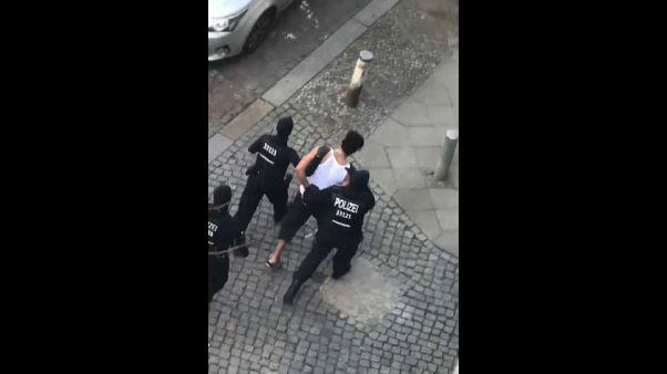 Berlin'de maraton öncesi altı şüpheli yakalandı