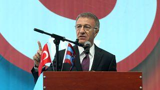 Trabzonspor'un yeni başkanı Ağaoğlu: Şike meselesinin peşindeyiz
