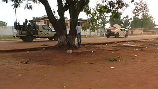 """Opération militaire """"en cours"""" à Bangui"""