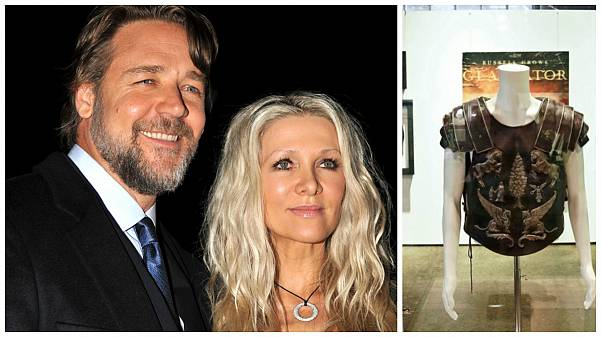 حراجی «هنر طلاق گرفتن» راسل کرو؛ زره گلادیاتور ۱۰۰ هزار دلار فروخته شد