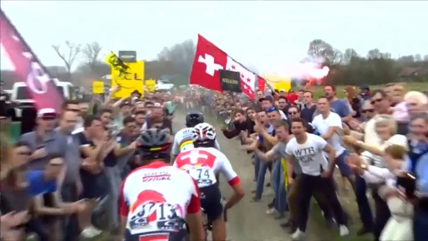 Belgian rider Michael Goolaerts dies of heart attack in Paris-Roubaix