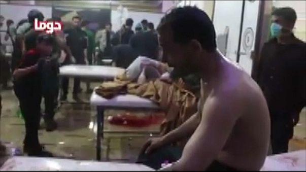 Ghouta orientale : les indices d'une attaque chimique