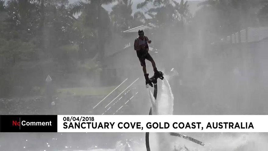 شاهد: الطيران على المسطحات المائية بأستراليا