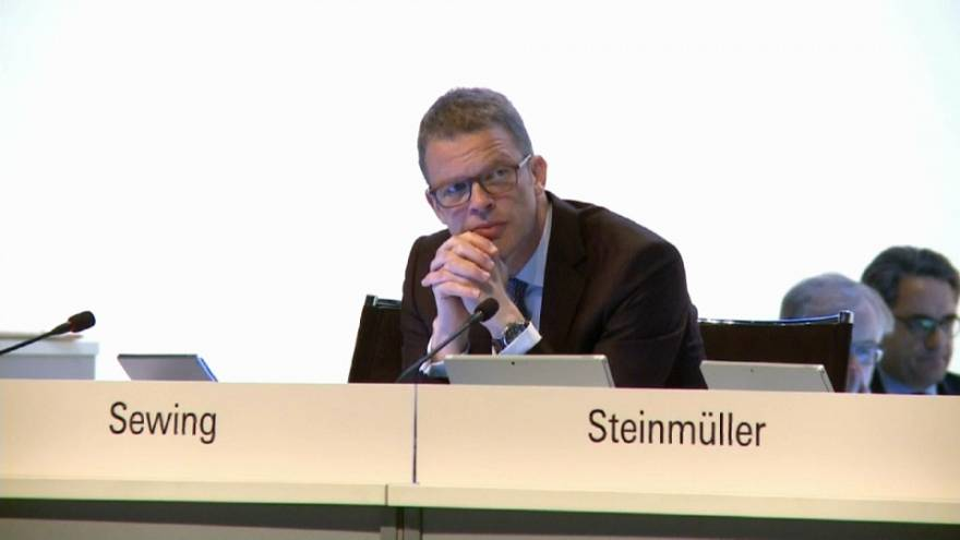 Christian Sewing (47) neuer Chef der Deutschen Bank