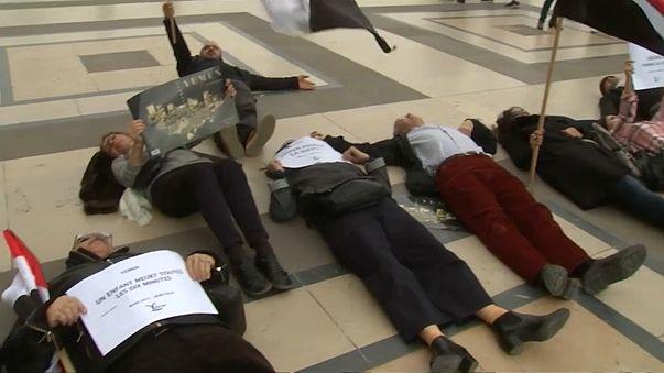 Proteste gegen Besuch des saudischen Kronprinzen