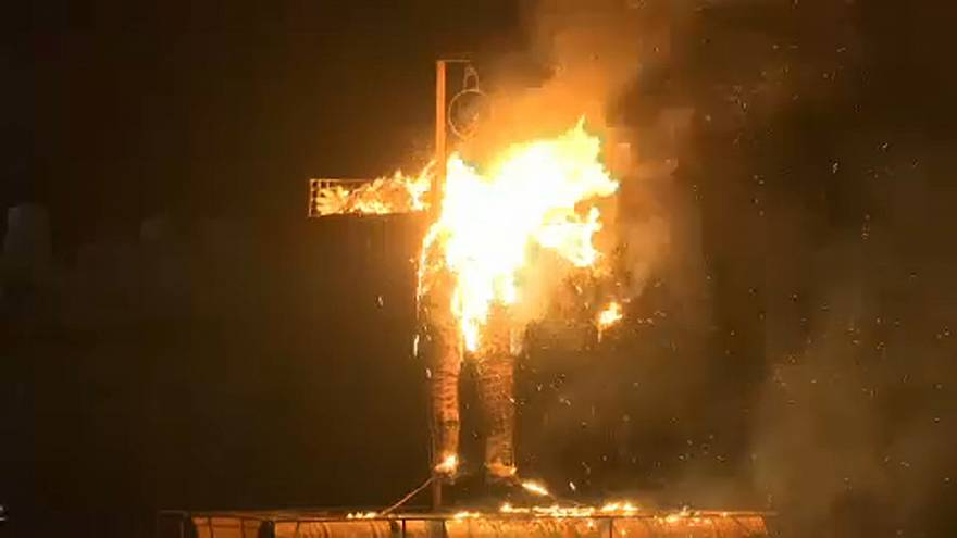 Ερμιόνη: Έκαψαν τον Ιούδα