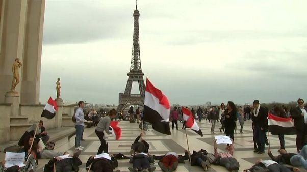 Yemen, proteste a Parigi per l'arrivo di Mohammed Bin Salman