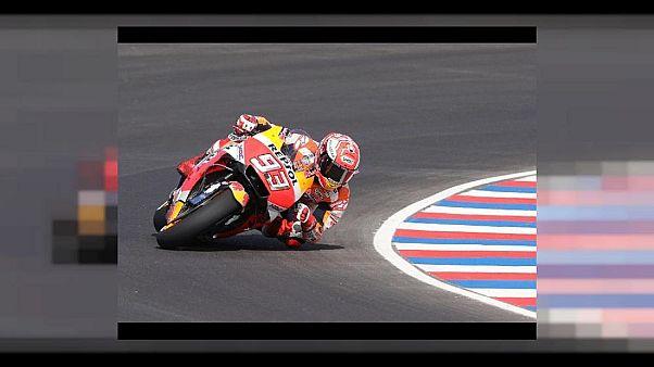 MotoGP: incidente e lite Marquez-Rossi