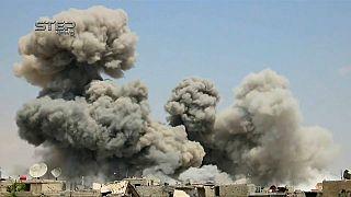 Siria: presunto attacco Usa contro aeroporto militare, abbattuti 8 missili